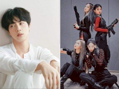 Jin BTS Merasa Seperti Ular Saat Dengarkan 'Black Mamba' dari aespa Ketika Mandi
