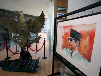 FOTO: Pameran Lukisan Jejak Putera Sang Fajar