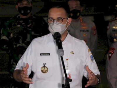 Anies Sebut Denda Pelanggaran Prokes di Kafe-Restoran Jakarta Capai Rp6,9 Miliar