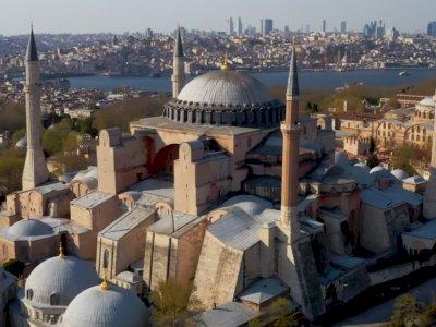 Intip Kemegahan Hagia Sophia, Masjid Kebanggaan Turki Sekaligus Situs Bersejarah Dunia