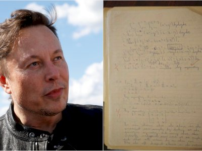 Viral PR Fisika Elon Musk Saat Masih Kuliah, Bisa Selesaikan?