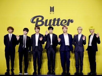 BTS Catat Sejarah Baru, Rajai Billboard Hot 100 Tiga Minggu Berturut-turut