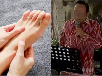 Sentuh Tangan Bu Dosen dengan Kaki, Rektor Unipar Prof RS Ngaku Capek dan Butuh Diluruskan