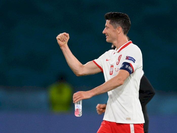 Sukses Tahan Imbang Spanyol, Lewandowski Beberkan Rahasianya