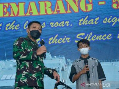 TNI AL Apresiasi Ketangguhan Mental Bocah 14 Tahun yang Terapung di Laut
