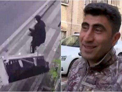 Malas Turun Tangga, Pria Ini Malah Buang Kursi dari Jendela, Hampir Mengenai Orang