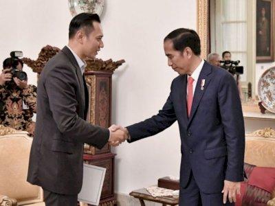 Doa AHY untuk Presiden Jokowi yang Berulang Tahun ke-60 Hari Ini