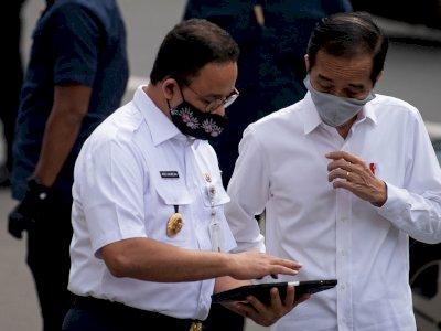 Ucapkan Selamat Ultah ke Jokowi, Anies: Semoga Bapak Selalu Kuat