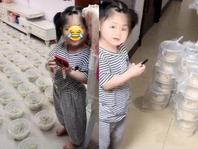 Gadis Ini Tak Sengaja Pesan 100 Mie, Orang Tua Sedekahkan Sisanya ke Petugas Kebersihan