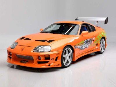 Mobil Toyota Supra 1994 yang Pernah Dipakai Paul Walker Terjual Rp7,9 Miliar!