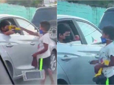 Viral Persahabatan Bocah Anak Orang Kaya dengan Anak Jalanan, Bikin Netizen Terharu