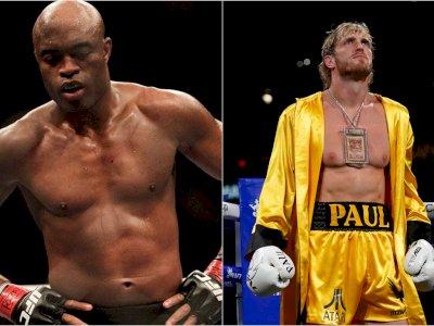 Kalahkan Julio Cesar, Anderson Silva Targetkan Logan Paul untuk Duel Tinju Berikutnya