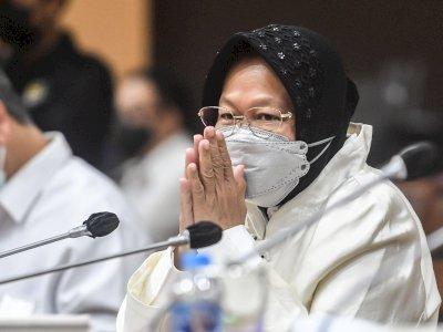 """Mensos Risma Sebut Mikro """"Lockdown"""" akan Buat Ekonomi Makro Tetap Berjalan di Saat Pandemi"""