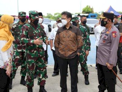 Panglima TNI-Kapolri-Menkes Tinjau Langsung Rusun Nagrak di Jakut