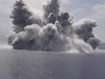 Ngeri! Amerika Sengaja Ledakkan Bom 40 Ribu Pon di Atlantik, Hewan-Hewan Laut Bermatian