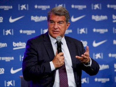 Laporta Tegaskan Barcelona Tak Akan Minta Maaf ke UEFA