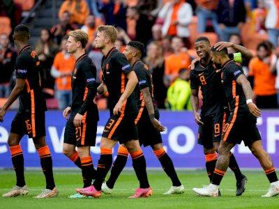Euro 2020: Hajar Makedonia Utara 3-0, Belanda Juara Grup C