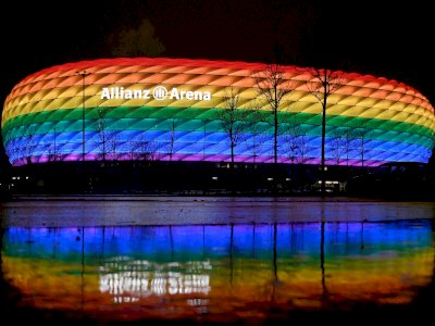 UEFA Tolak Permintaan Jerman yang Ingin Buat Allianz Arena Berwarna Pelangi