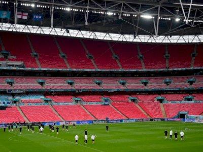 Covid-19 Menggila di Inggris, Final Euro 2020 Terancam Dipindah