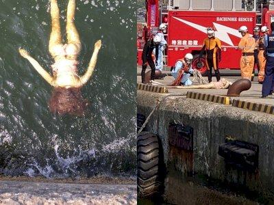 Petugas Kebakaran Berebut Menyelamatkan 'Wanita Tenggelam' yang Ternyata Boneka Seks, Duh!