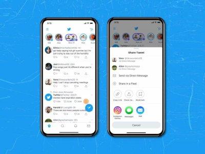 Pengguna Twitter di iOS Kini Bisa Langsung Bagikan Tweet ke Instagram Stories!