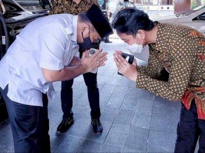 Menag Yaqut Sungkem ke Gibran, Netizen: Kelihatan Lidahnya Terjulur Andai Tak Pakai Masker