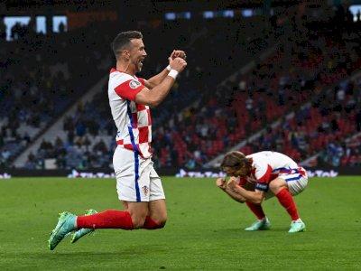 FOTO: Euro 2020,  Kroasia Tundukkan Skotlandia 3-1