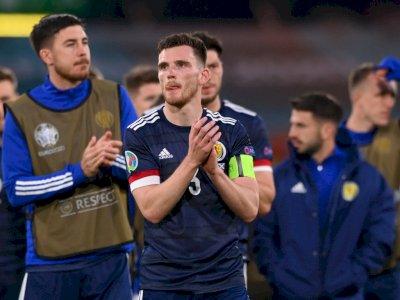 Angkat Koper dari EURO 2020, Begini Reaksi Pelatih dan Kapten Skotlandia