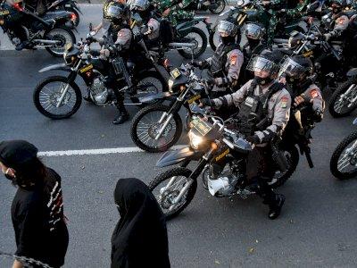 200 Orang Lebih Diamankan Polisi Jelang Sidang Habib Rizieq, Ada yang Bawa Sajam