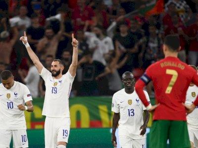 Portugal VS Prancis Imbang: Kedua Tim Lolos ke Babak 16 Besar