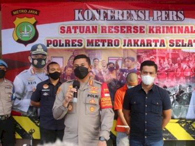 Curi 21 Tabung Gas di 14 Lokasi di Jaksel, Pria Ini Berujung diciduk Polisi