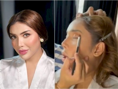 Millen Cyrus Tidur Sampai Mangap saat Didandani, Netizen Soroti Wajahnya: Garang Banget Ya