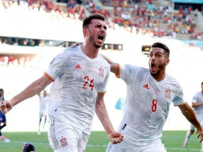 FOTO: Euro 2020, Spanyol Bantai Slovakia 5-0