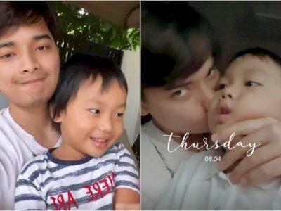 Larissa Chou Boyong Anak Pindah ke Bandung, Alvin Faiz Tak Henti Cium dan Tulis Pesan Haru