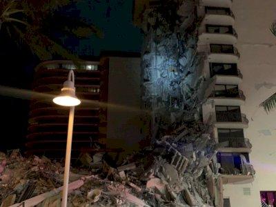Gedung Apartemen di Florida Runtuh, Warga: Seperti Ada Gempa Bumi