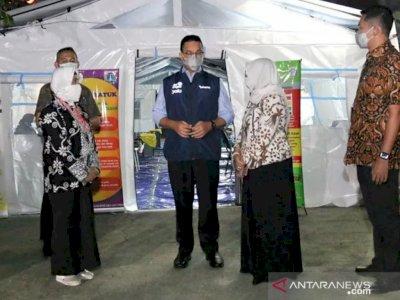 Anies Sebut Tenda Darurat Pasien COVID-19 Sudah Dipasang pada 22 Rumah Sakit di Jakarta