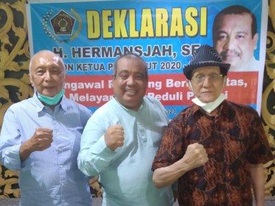 Hermansjah Deklarasi Calonkan Ketua PWI Sumut, Janji Bikin Program Asuransi Jiwa