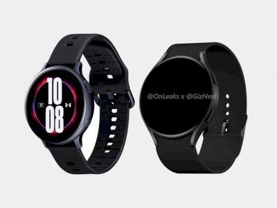 Bocoran Render Samsung Galaxy Watch Active 4 Telah Muncul di Internet!