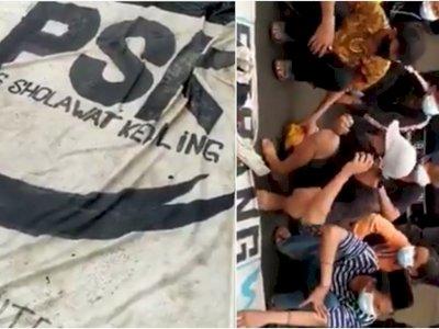 Viral Pendukung Rizieq Bernama 'PSK', Logonya Pedang Pancung, Rata-Rata Masih Anak-Anak
