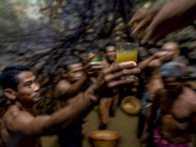 FOTO: Tradisi Sedekah Bumi Desa Sugihmanik