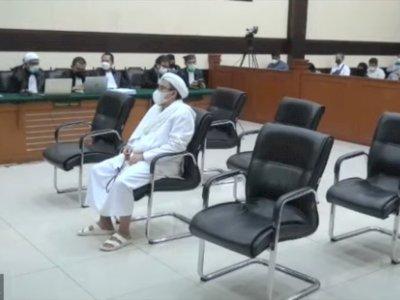 Hari Ini Habib Rizieq Shihab Jalani Sidang Putusan Kasus RS UMMI Bogor