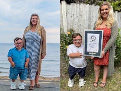 Pasangan Beda Tinggi Badan Ini Memenangkan Guinness World Record