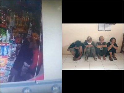 Duh! Anak Jalanan Ini Keroyok Karyawan Minimarket di Pekalongan Usai Ketahuan Mencuri