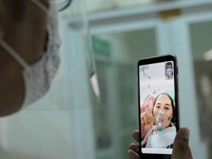 Momen Ridwan Kamil Kunjungi Rumah Isolasi di Garut, Video Call dengan Pasien