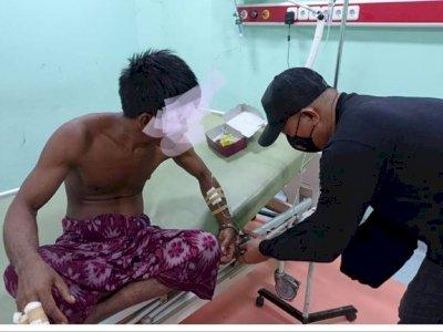 Pria di Lombok Tengah Tewas Ditebas Parang Usai Cekcok Mulut karena Dilarang Ambil Rumput