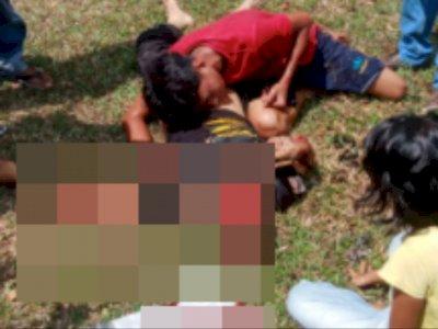 Fakta Jasad Pria yang Dipeluk Anaknya di Jalan, Dibunuh Pembeli AC dan Mesin Cuci