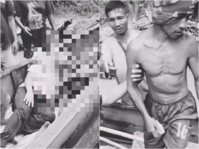 Kejam! Pria di Melawi Bacok 3 Warga Pakai Parang Hingga Bersimbah Darah, Diamankan Polisi