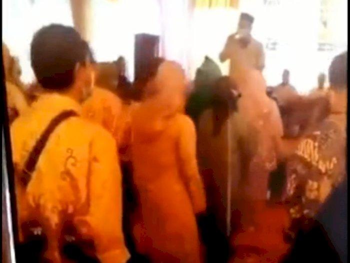 Duh! Viral Lurah di Depok Gelar Pesta Hajatan di Hari Pertama PPKM Darurat