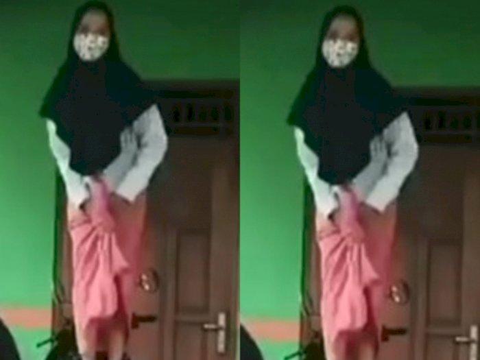 Alamak, Perempuan Berjilbab Joget di Atas Motor, Ending-nya Tak Sesuai Harapan Netizen