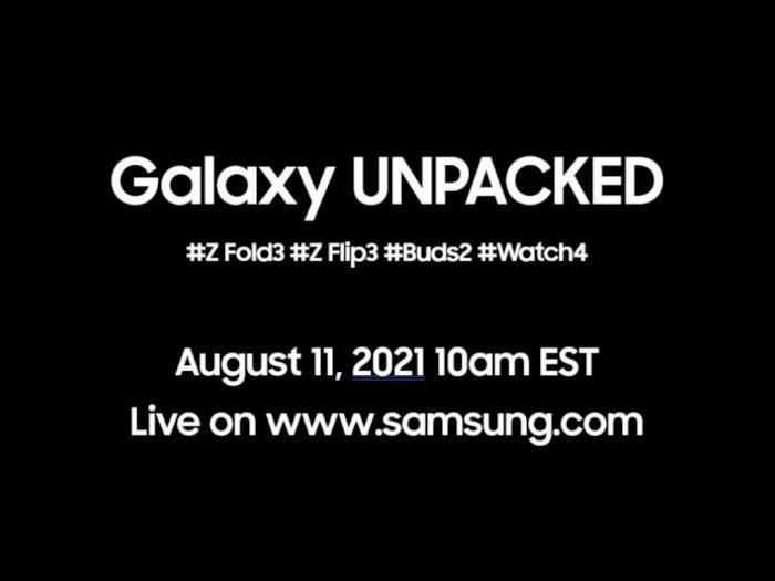 Samsung Bakal Gelar Event Galaxy Unpacked Terbaru Tanggal 11 Agustus Nanti